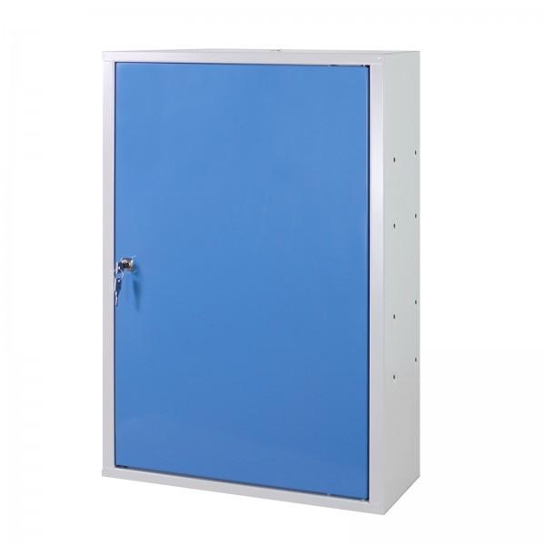 ADB Werkzeugwandschrank mit 1 Tür, 1 Fachboden, Blau